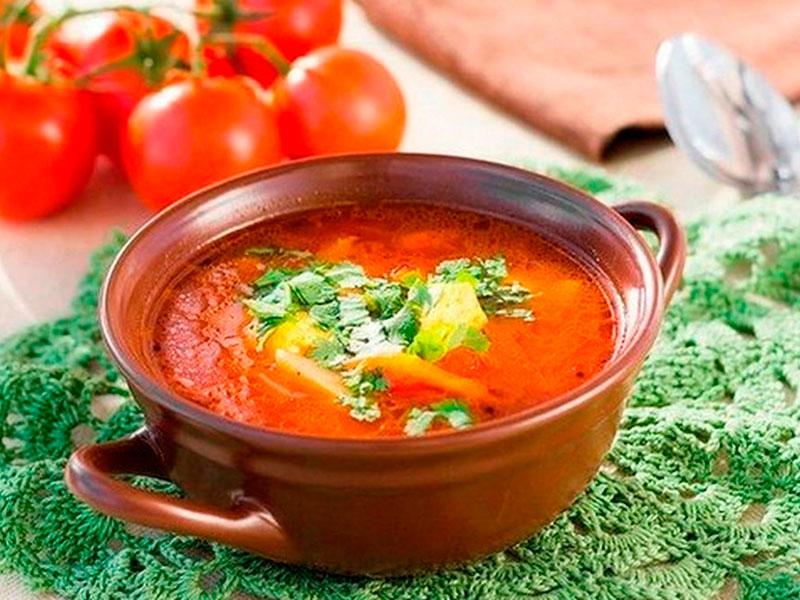 Веганский суп «Харчо»