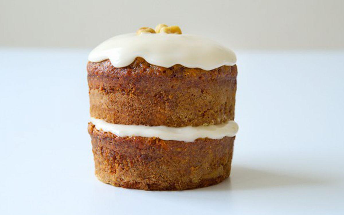 Пряный морковный мини-пирог