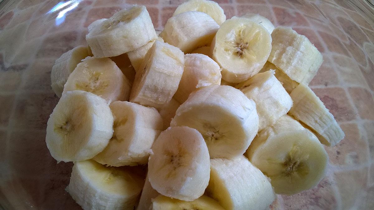 Рецепт веганского мороженого из бананов
