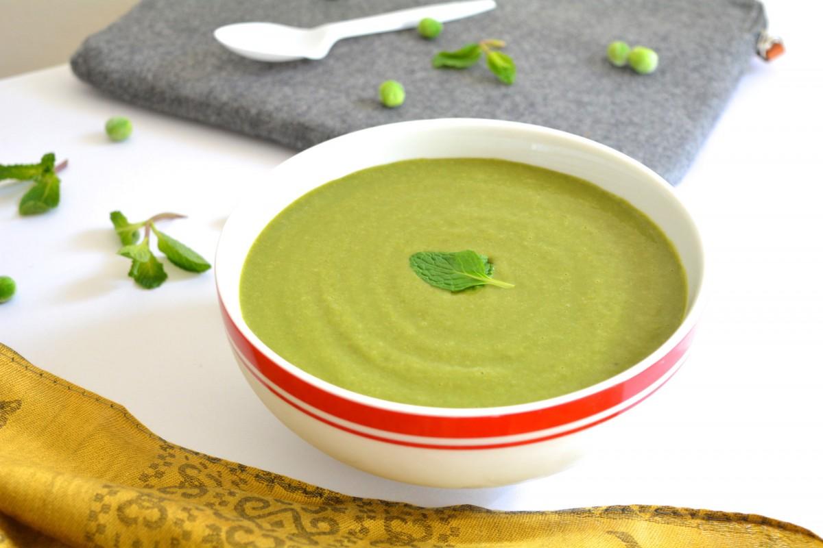 крем-суп из гороха