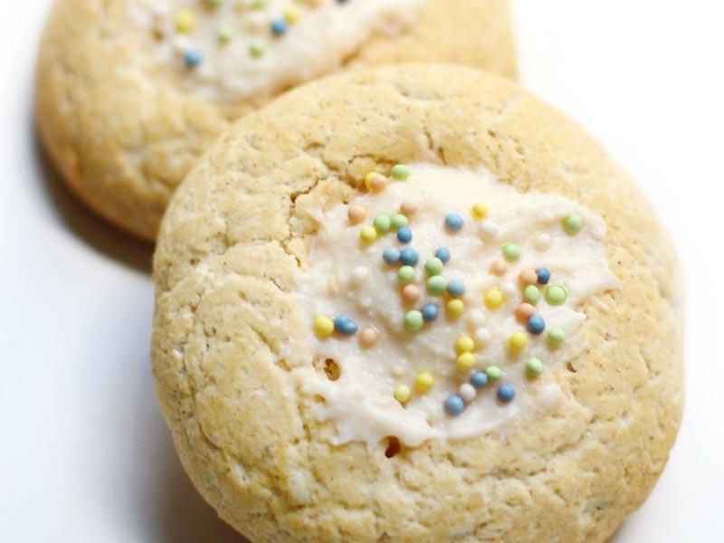 Веганское пасхальное печенье