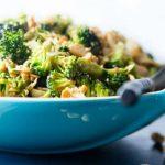 полезный салат из брокколи