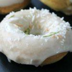Веганские кокосовые пончики