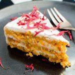 Веганский морковный пирог из кокосовой муки