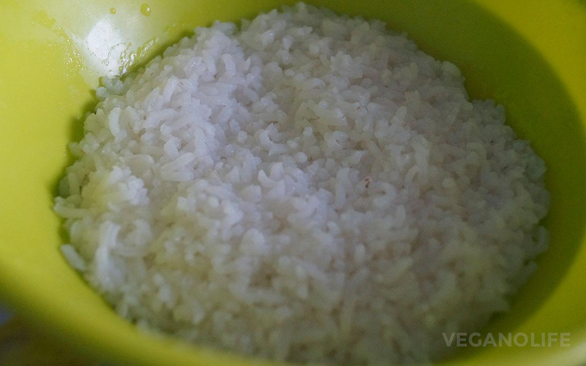 Рисовые котлеты