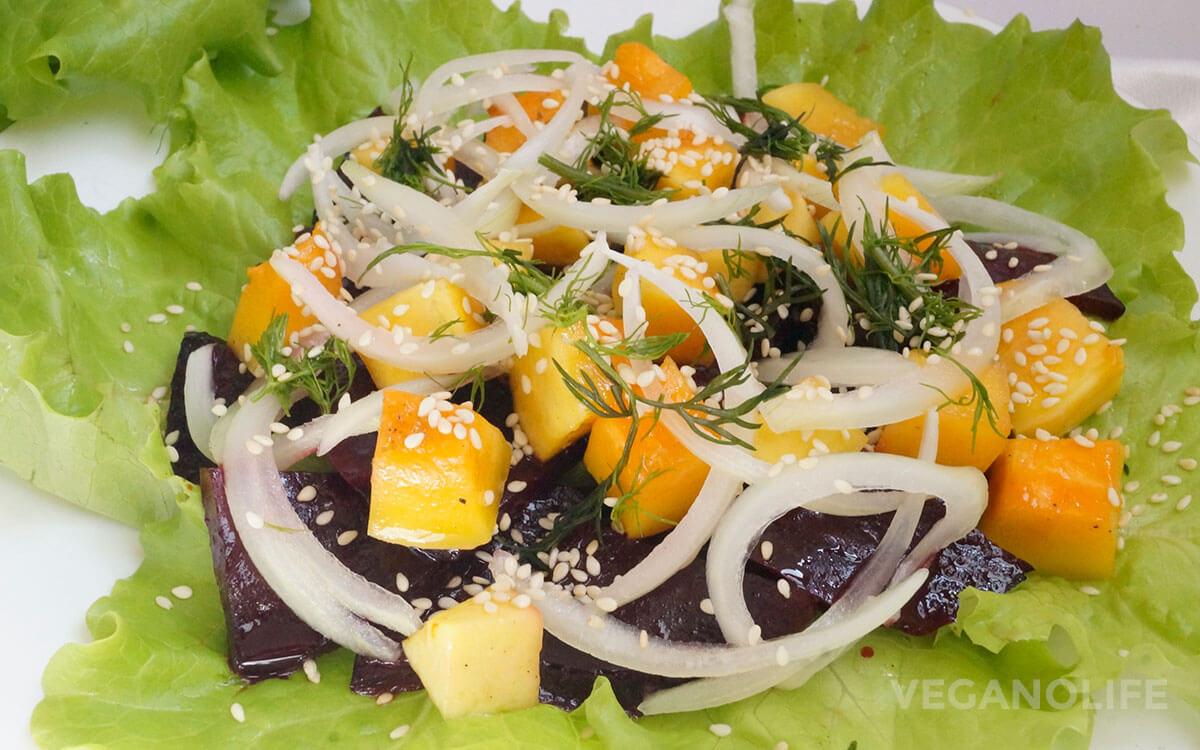 отпуске тоже салат из тыквы фото рецепт профиль