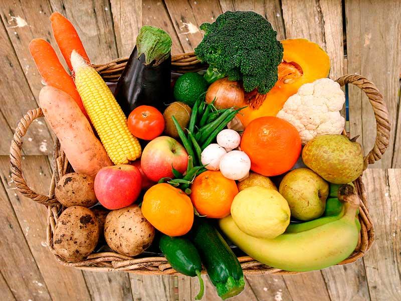 Тест на знание фруктов и овощей